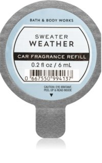 Bath & Body Works Sweater Weather désodorisant voiture recharge