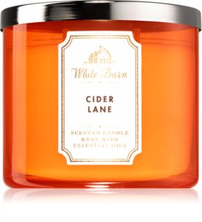 Bath & Body Works Cider Lane illatos gyertya