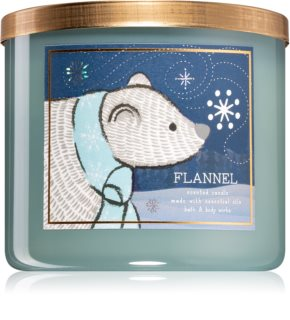 Bath & Body Works Flannel scented candle V.