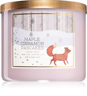 Bath & Body Works Maple Cinnamon Pancakes vonná sviečka I.