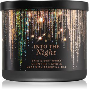 Bath & Body Works Into The Night  candela profumata