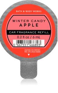 Bath & Body Works Winter Candy Apple ambientador auto recarga de substituição