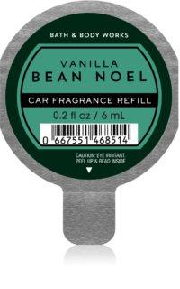 Bath & Body Works Vanilla Bean Noel vůně do auta náhradní náplň