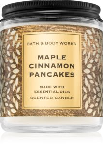 Bath & Body Works Maple Cinnamon Pancakes αρωματικό κερί ΙΙ.
