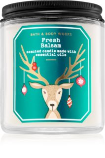 Bath & Body Works Fresh Balsam vela perfumada III.