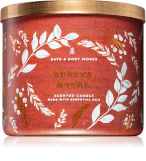 Bath & Body Works Cherry Mocha vela perfumada