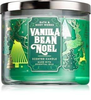 Bath & Body Works Vanilla Bean Noel αρωματικό κερί