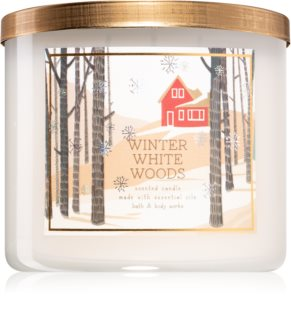 Bath & Body Works Winter White Woods aроматична свічка