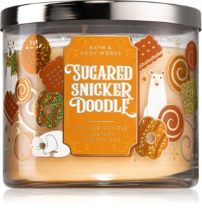 Bath & Body Works Sugared Snickerdoodle vela perfumada I.