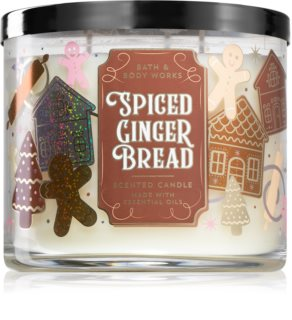 Bath & Body Works Spiced Gingerbread vela perfumada