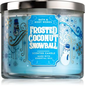 Bath & Body Works Frosted Coconut Snowball vonná sviečka