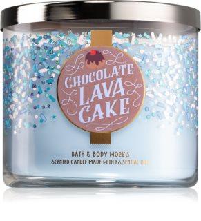 Bath & Body Works Chocolate Lava Cake vela perfumada