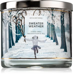 Bath & Body Works Sweater Weather vonná svíčka IV.