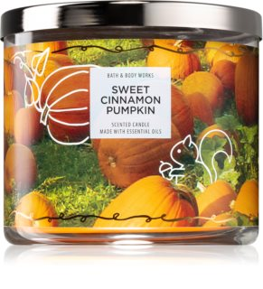 Bath & Body Works Sweet Cinnamon Pumpkin lumânare parfumată  II.