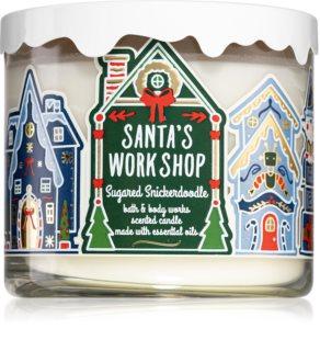 Bath & Body Works Sugared Snickerdoodle bougie parfumée (Santa's WorkShop)