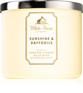 Bath & Body Works Sunshine and Daffodils scented candle