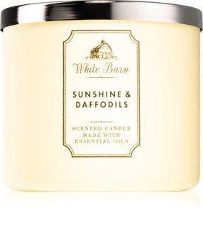 Bath & Body Works Sunshine and Daffodils vonná svíčka