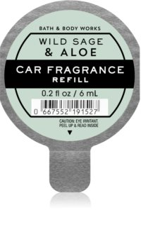 Bath & Body Works Wild Sage & Aloe car air freshener Refill