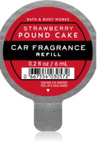 Bath & Body Works Strawberry Pound Cake ambientador auto recarga