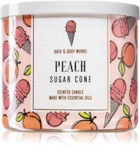 Bath & Body Works Peach Sugar Cone duftkerze