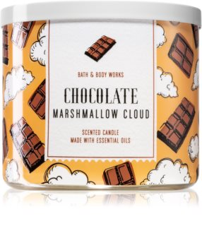 Bath & Body Works Chocolate Marshmallow Cloud vela perfumada
