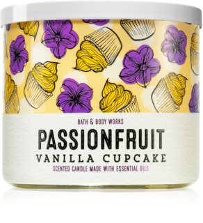 Bath & Body Works Passionfruit Vanilla Cupcake scented candle