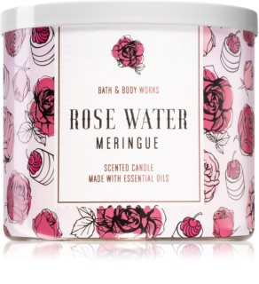 Bath & Body Works Rose Water Meringue αρωματικό κερί