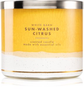 Bath & Body Works Sun-Washed Citrus scented candle
