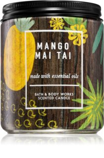 Bath & Body Works Mango Mai Tai scented candle