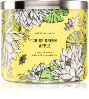 Bath & Body Works Crisp Green Apple scented candle