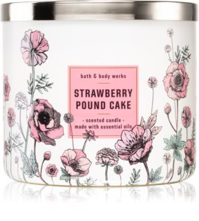 Bath & Body Works Strawberry Pound Cake scented candle