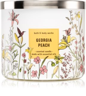 Bath & Body Works Georgia Peach ароматна свещ