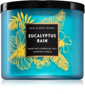 Bath & Body Works Eucalyptus Rain ароматна свещ  III.