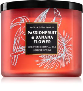 Bath & Body Works Passionfruit & Banana Flower vonná svíčka
