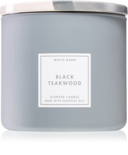 Bath & Body Works Black Teakwood scented candle