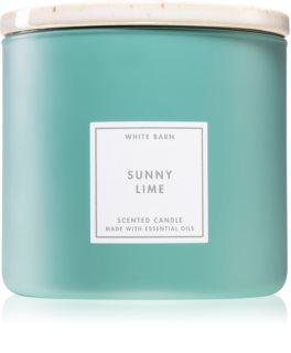 Bath & Body Works Sunny Lime vela perfumada