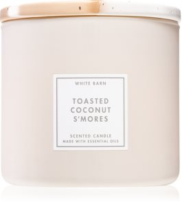 Bath & Body Works Toasted Coconut S´mores lumânare parfumată