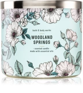 Bath & Body Works Woodland Springs vela perfumada