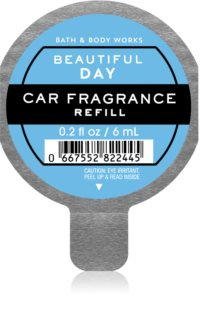 Bath & Body Works Beautiful Day auto luchtverfrisser  Navulling