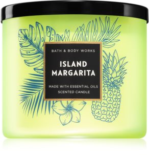 Bath & Body Works Island Margarita scented candle V.
