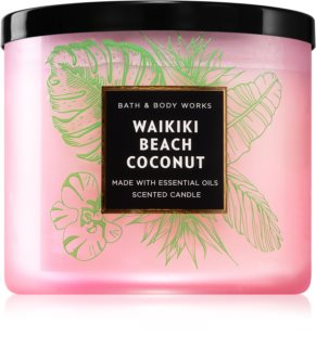 Bath & Body Works Waikiki Beach Coconut bougie parfumée