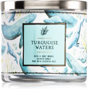 Bath & Body Works Turquoise Waters duftkerze  I.