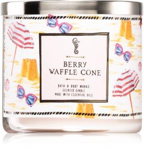 Bath & Body Works Berry Waffle Cone mirisna svijeća