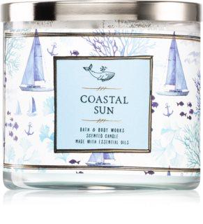 Bath & Body Works Coastal Sun illatos gyertya