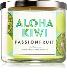 Bath & Body Works Aloha Kiwi Passionfruit vela perfumada