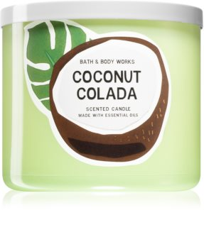 Bath & Body Works Coconut Colada scented candle