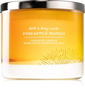 Bath & Body Works Pineapple Mango bougie parfumée