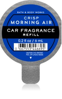 Bath & Body Works Crisp Morning Air luftfrisker til bil Genopfyldning