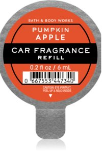 Bath & Body Works Pumpkin Apple auto luchtverfrisser  Navulling