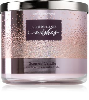 Bath & Body Works A Thousand Wishes bougie parfumée I.